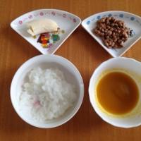 今日の離乳食(昼御飯)【114日目】