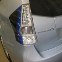 プリウスα ZVW41 24年車両 自動格納、車速ドアロック、ワンタッチウインカー取付