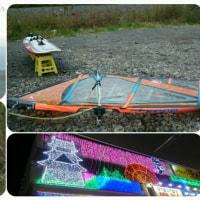 11月23日(水) F川 5.3m2 アンダー&オーバー 波腰