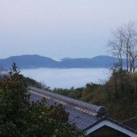 日の出前の【雲海】風景