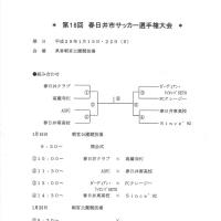 第18回春日井市サッカー選手権大会