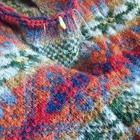 袖、編んでます。とGWの成果