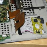 [CF-T2] IDEのノートPCに、SATAのSSDを内蔵する