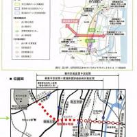 環状4号線の都市計画道路案の説明会が開催されました