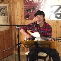 坂手くんのガットギター(^^♪