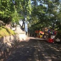 阿智神社と素隠居