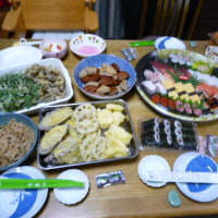 孫たちとの食事