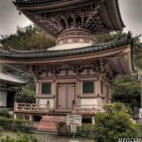 小雨降る壺阪寺(南法華寺)..HDR1