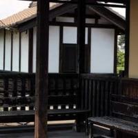紫陽花の大宝八幡宮とレトロな駅