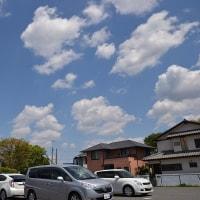4月23日、正午過ぎの空模様