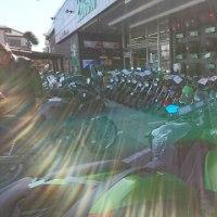 バイク用品店めぐり