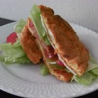 クラウドブレッド・サンドイッチ。