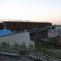 南大通橋上部架設工事現場その後