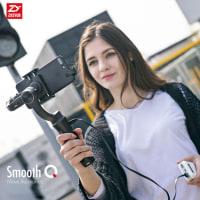 5%off-Zhiyun Smooth-Q 3軸 ハンドヘルド ジンバル スタビライザー 無線制御 垂直撮影 パノラマモード