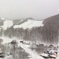 しんしんと雪の降る