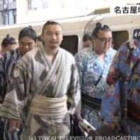「びんつけ油の香り漂う…大相撲名古屋場所を前に「相撲列車」到着 名古屋駅」とのニュースっす。