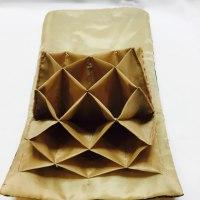 和風な三角ポーチとカードケース