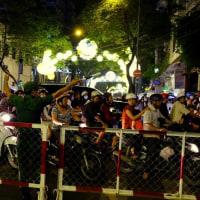 ベトナム旅行記:4日目その9 -「大晦日の夜」:ホーチミン市