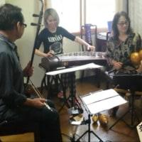 明日ですよ 中国楽器コンサートin奈良美術館