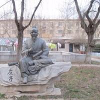 「明日から二学期が始まる菏澤学院キャンパス周辺」No.1876