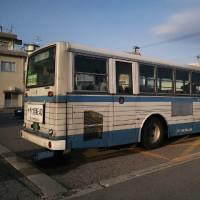 また青バス200 号に乗りました