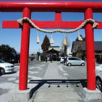 梅香る天満天神社へ