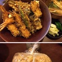 湯島天神と天神下近くに在る、美味しい2軒の天ぷら屋さん。