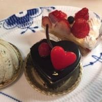 柿の木坂 キャトルのケーキ