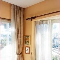 カーテンの洗濯とフックの直し方