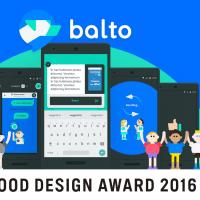 フィードバックツール「Balto」グッドデザイン賞受賞