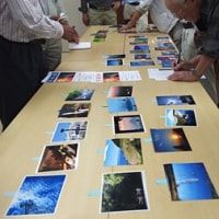 秋の写真展に出品する写真を選ぶ