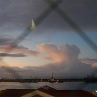 遙かな朝焼け雲