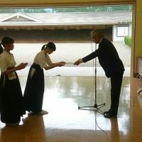 中学生県大会閉会式