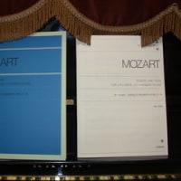 「モーツアルト2台のピアノのためのソナタとフーガ」の(!)