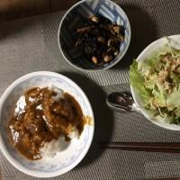 本日(1/13)の夕定食でございます🤗