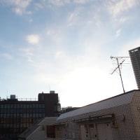 東京の今朝の天気(12月3日):晴れ