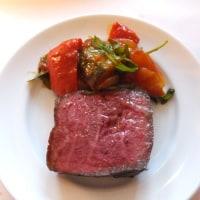 飯田橋の「トラットリア グランボッカ」にてお肉ディナー
