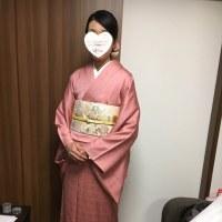 22日の出張着付は堺市北区、お宮参りの着付けとヘアセットでした。