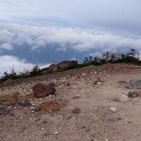 日光白根山と男体山