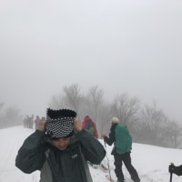 守門岳 東洋一の雪庇見学ツアー!