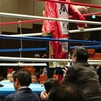 山梨県K.T.Tスポーツボクシングジム公式ブログ・・・観戦記