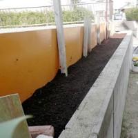 小さな家庭菜園土作り(夏野菜用)