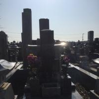 創業者由来のお墓参りに行きました。