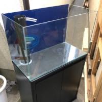 中古 600×300×360オールガラスオーバーフロー水槽セット