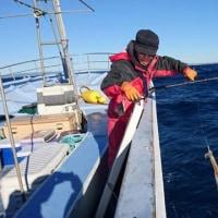 今シーズン 最初の槍イカ釣り 第二沖合丸 2月12日