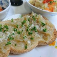 晩ごはん☆野菜とパン