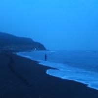 いつもの海岸 朝一のチビアメ一匹で終了