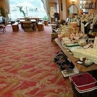 売店の場所を移動しました。日田温泉亀山亭ホテル