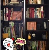本棚整理。