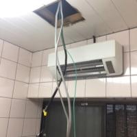 浴室換気扇交換&浴室暖房取付